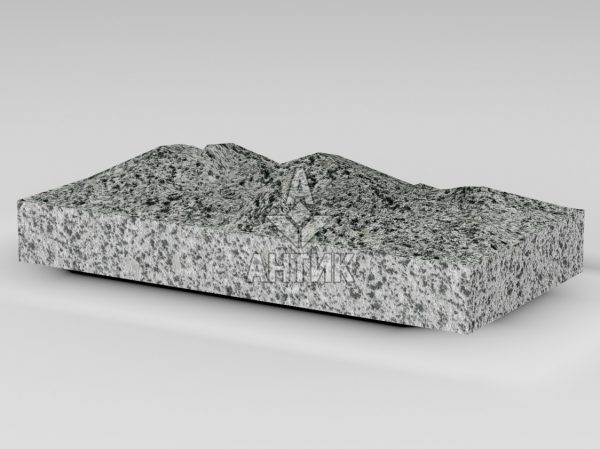 Плитка из Покостовского гранита 400x200x50 колотая фото