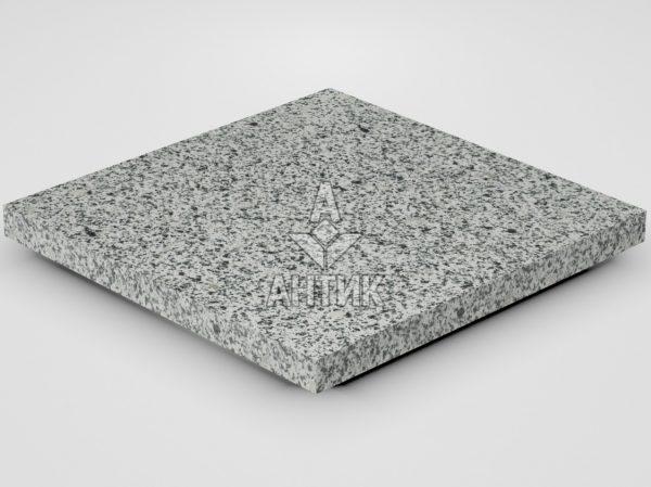 Плитка из Покостовского гранита 400x400x30 термообработанная фото