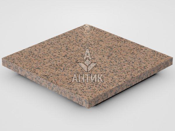 Плитка из Симоновского гранита 300x300x20 термообработанная фото