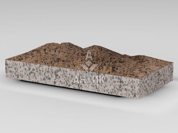 Плитка из Симоновского гранита 400x200x50 колотая фото