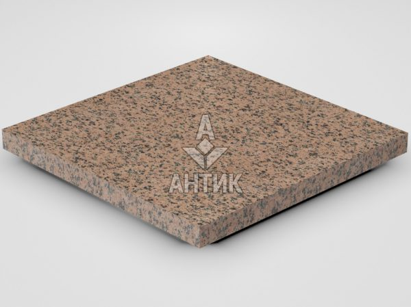 Плитка из Симоновского гранита 400x400x30 термообработанная фото