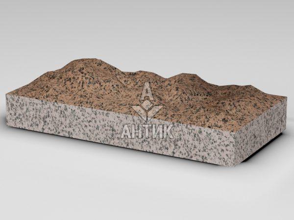 Плитка из Симоновского гранита 600x300x80 колотая фото