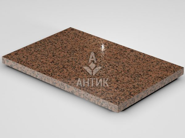 Плитка из Симоновского гранита 600x400x30 полированная фото