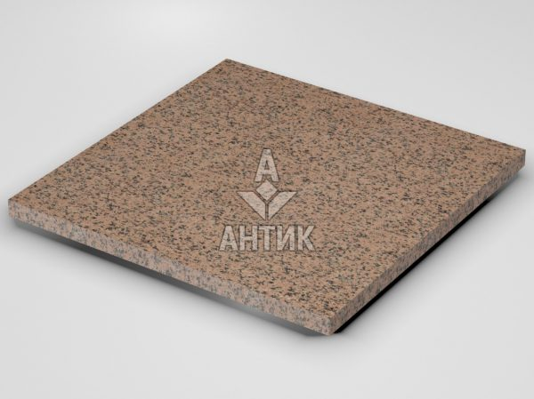 Плитка из Симоновского гранита 600x600x30 термообработанная фото