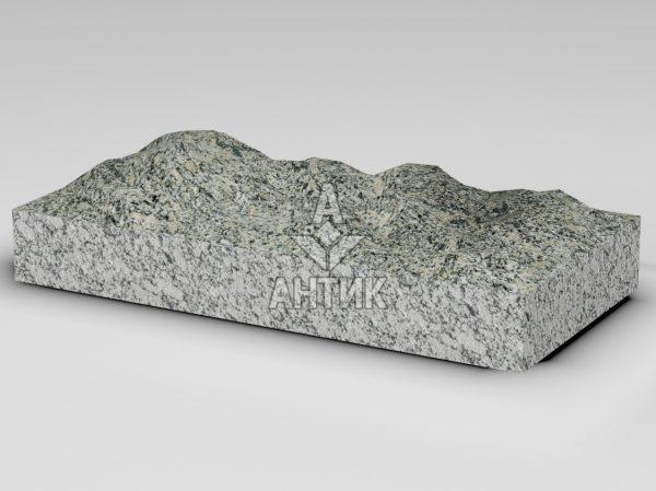 Плитка из Симоновского серого гранита 600x300x80 колотая фото
