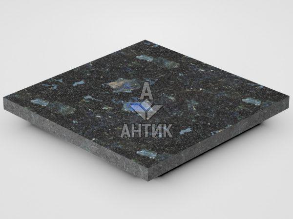 Плитка из Слободского лабрадорита 300x300x20 термообработанная фото
