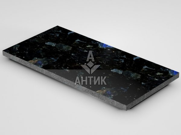 Плитка из Слободского лабрадорита 600x300x20 полированная фото