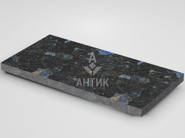 Плитка из Слободского лабрадорита 600x300x30 термообработанная фото
