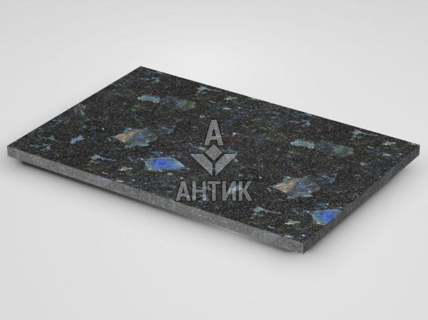 Плитка из Слободского лабрадорита 600x400x20 термообработанная фото