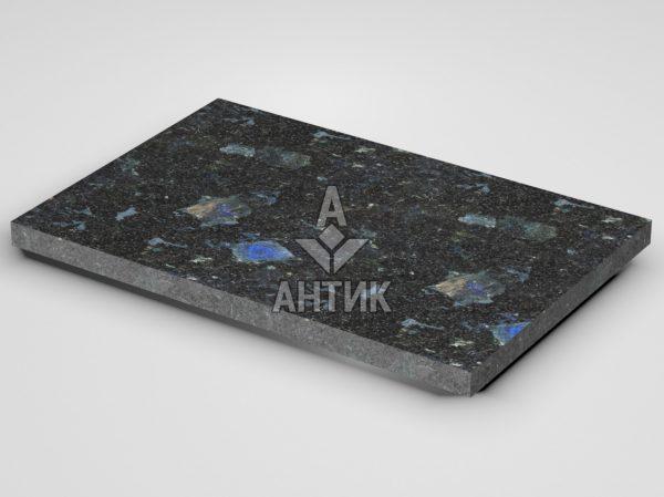 Плитка из Слободского лабрадорита 600x400x30 термообработанная фото