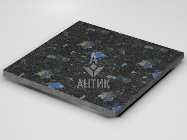 Плитка из Слободского лабрадорита 600x600x30 термообработанная фото