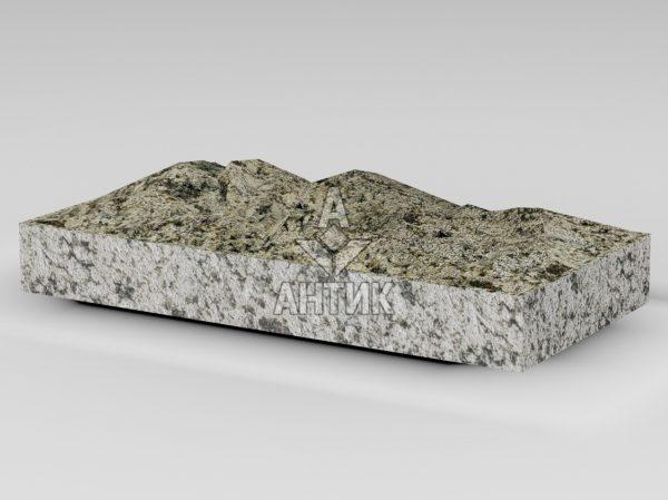 Плитка из Софиевского гранита 400x200x50 колотая фото