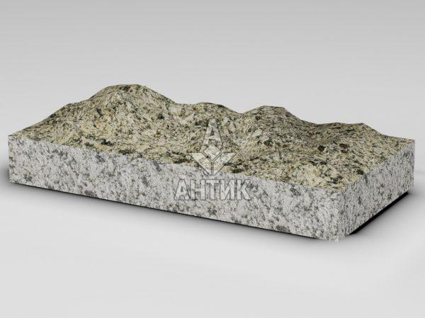 Плитка из Софиевского гранита 600x300x80 колотая фото
