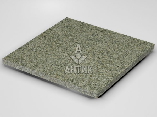 Плитка из Старобабанского гранита 600x600x30 термообработанная фото