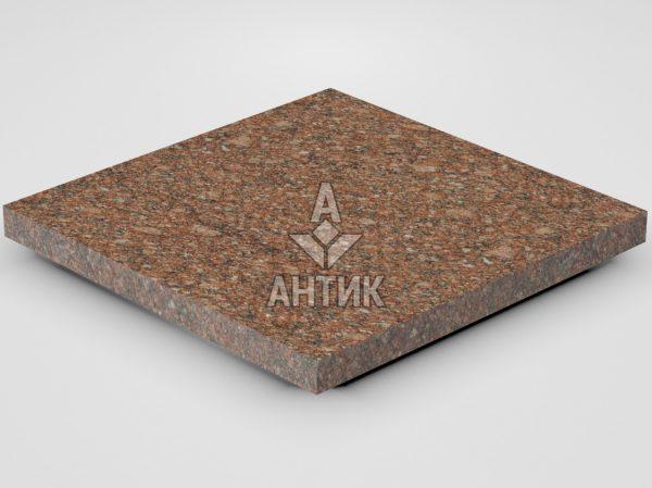 Плитка из Токовского гранита 400x400x30 термообработанная фото