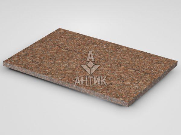 Плитка из Токовского гранита 600x400x20 термообработанная фото