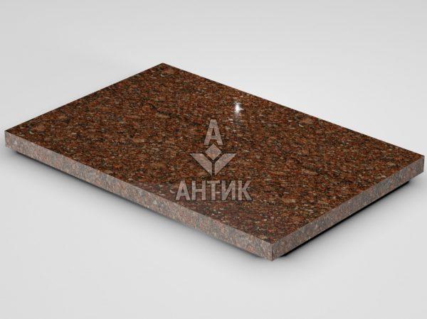 Плитка из Токовского гранита 600x400x30 полированная фото