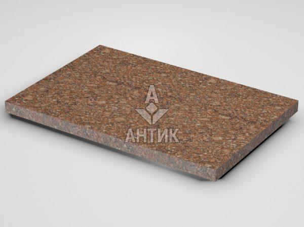 Плитка из Токовского гранита 600x400x30 термообработанная фото