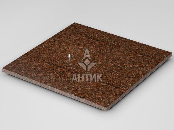 Плитка из Токовского гранита 600x600x20 полированная фото