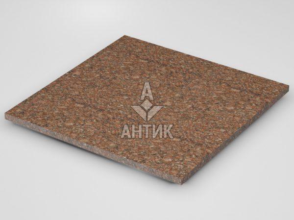Плитка из Токовского гранита 600x600x20 термообработанная фото