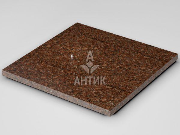Плитка из Токовского гранита 600x600x30 полированная фото