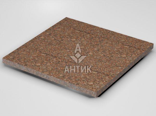 Плитка из Токовского гранита 600x600x30 термообработанная фото