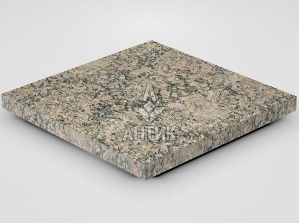 Плитка из Юрьевского гранита 400x400x30 термообработанная фото