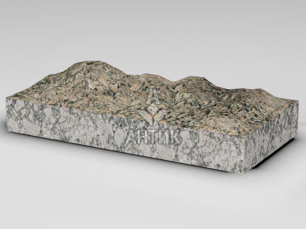 Плитка из Юрьевского гранита 600x300x80 колотая фото