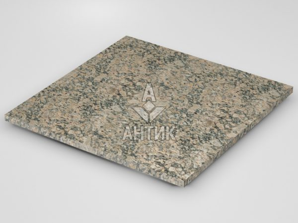 Плитка из Юрьевского гранита 600x600x20 термообработанная фото
