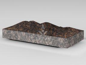 Плитка из Жадановского гранита 400x200x50 колотая фото