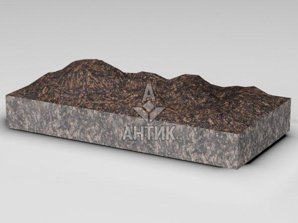 Плитка из Жадановского гранита 600x300x80 колотая фото