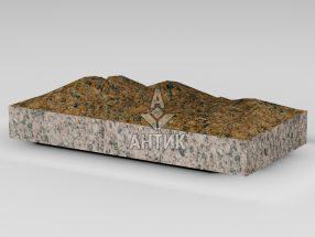 Плитка из Жадковского (Корецкого) гранита 400x200x50 колотая фото