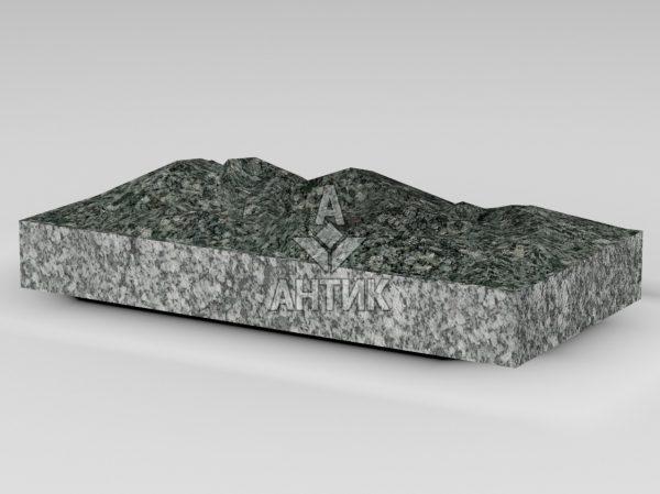 Плитка из Жежелевского гранита 400x200x50 колотая фото