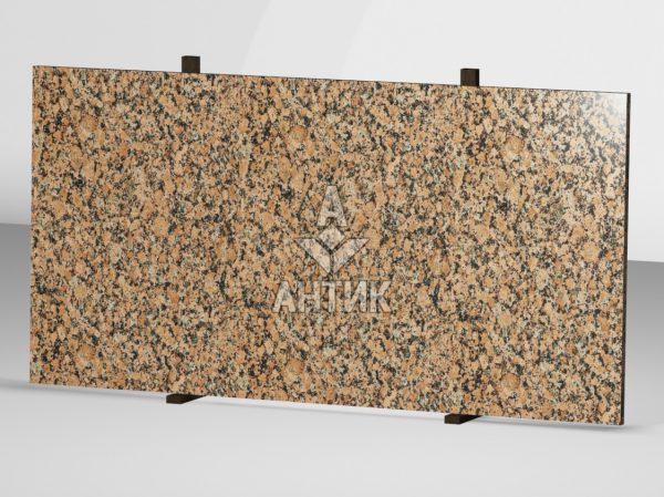 Сляб из Емельяновского гранита 2000x1000x30 полированный фото