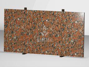 Сляб из Капустинского гранита 2000x1000x30 полированный фото