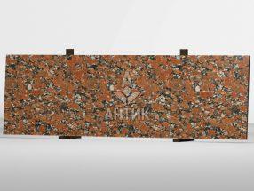 Сляб из Капустинского гранита 2000x600x20 полированный фото