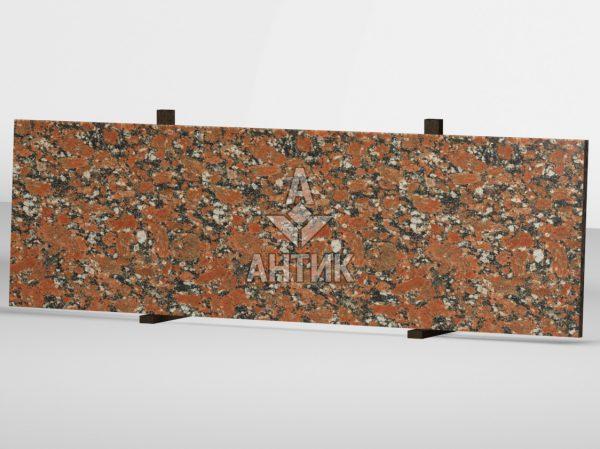 Сляб из Капустинского гранита 2000x600x30 полированный фото