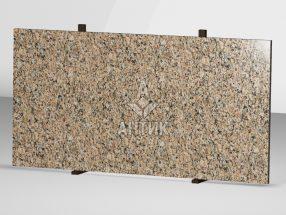 Сляб из Межиричского гранита 2000x1000x30 полированный фото