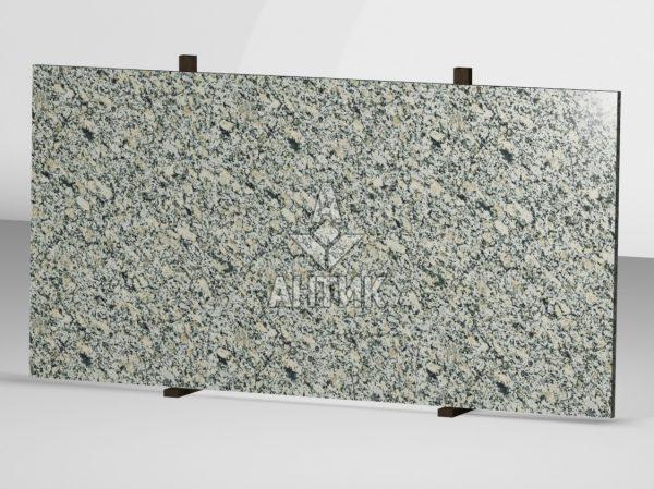 Сляб из Симоновского серого гранита 2000x1000x30 полированный фото