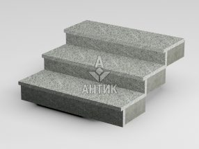 Ступень накладная из Богуславского гранита 350x30x1000 термообработанная фото
