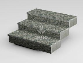 Ступень накладная из Корнинского гранита 350x30x1000 термообработанная фото