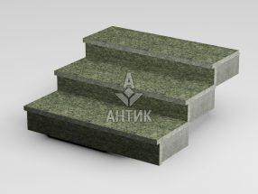 Ступень накладная из Роговского гранита 350x30x1000 термообработанная фото
