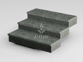 Ступень накладная из Жежелевского гранита 350x30x1000 термообработанная фото