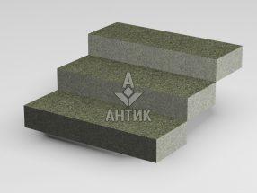 Ступень цельная из Челновского гранита 350x150x1000 термообработанная фото
