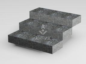 Ступень цельная из Каменная Печь лабрадорита 350x150x1000 термообработанная фото