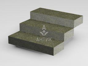 Ступень цельная из Маславского гранита 350x150x1000 термообработанная фото