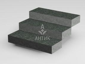 Ступень цельная из Рахны-Полевского гранита 350x150x1000 термообработанная фото
