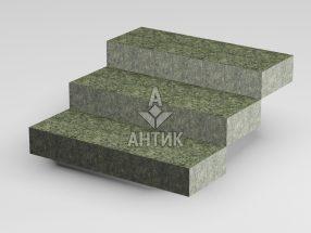 Ступень цельная из Роговского гранита 350x150x1000 термообработанная фото