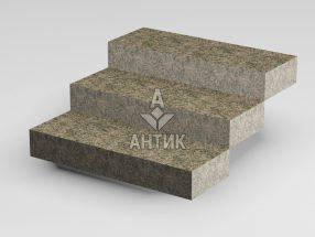 Ступень цельная из Васильевского гранита 350x150x1000 термообработанная фото
