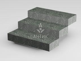 Ступень цельная из Жежелевского гранита 350x150x1000 термообработанная фото